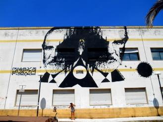 Chekos'art, street art, Italy