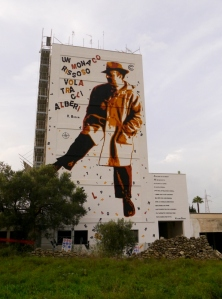 V. Bodini mural by Chekos'art