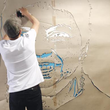 street art Gloria Anzaldùa