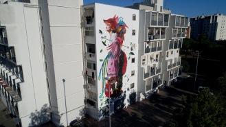 murales, Lecce, Italia