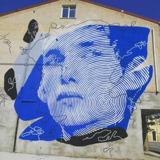 street art italy, mural in Stornara, Foggia, Puglia
