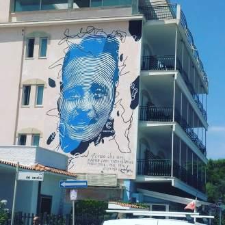 street art italy, mural in Casalabate, Foggia, Puglia