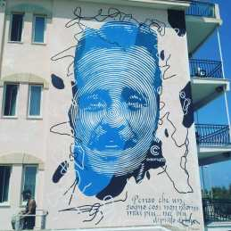street art italy, mural in Casalabate, Puglia