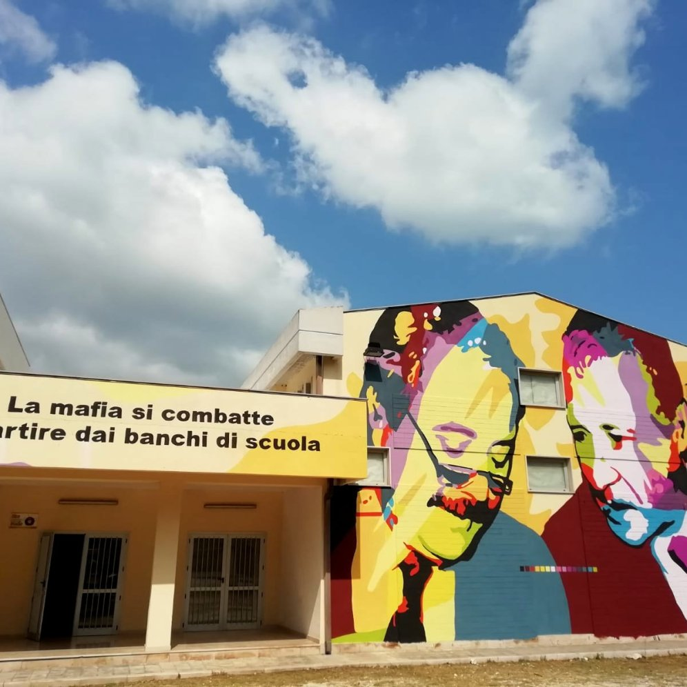 murales Falcone e Borsellino by Chekosˆart